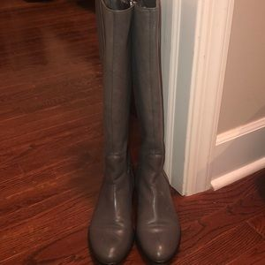 Tall COACH riding boots